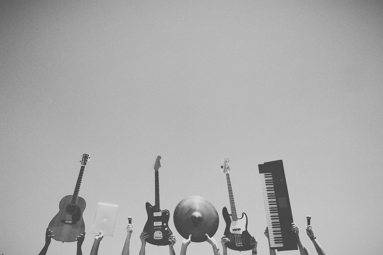 様々な楽器
